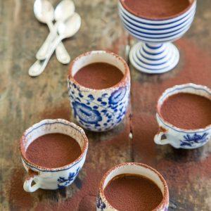 מוס שוקולד מריר