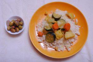 קוסקוס ומרק ירקות