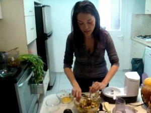 פסטת קישואים ברוטב עגבניות