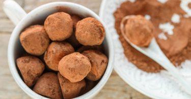 כדורי שוקולד בראוניז ללא סוכר