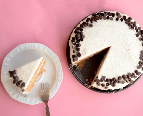 עוגת יום הולדת טבעונית