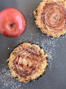 כנאפה תפוח-מייפל בקרם קינמון