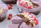 עוגת שכבות של פטל ושוקולד