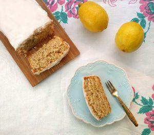 עוגת לימון טבעונית
