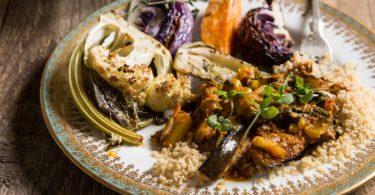 תבשיל ירקות וקוסקוס מלא