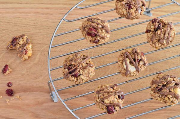עוגיות גרנולה טבעונית