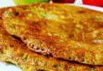 חביתה טבעונית מקמח חומוס ואורז מלא