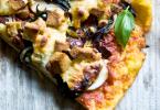 פיצה טבעונית מקמח תירס