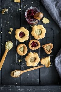 עוגיות סנדוויץ' טבעוניות ללא גלוטן