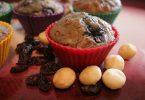 מאפינס גרנולה ופירות טריים