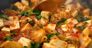 תבשיל טופו בסגנון מרוקאי - כשר לפסח