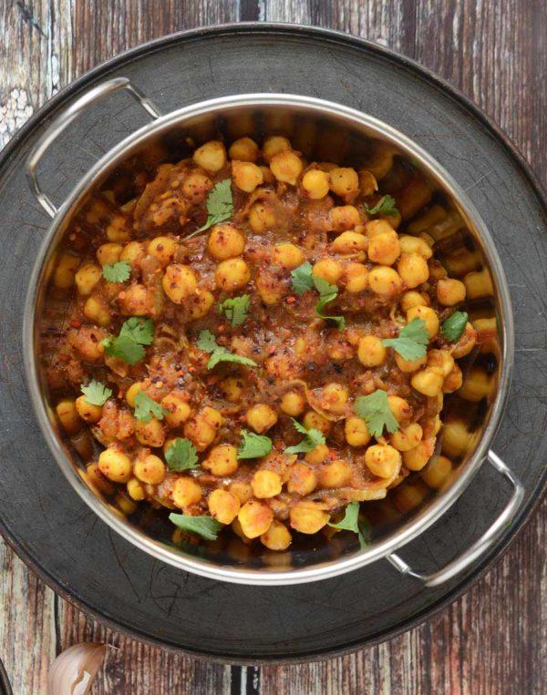 צ׳אנה מסאלה - תבשיל הודי מסורתי