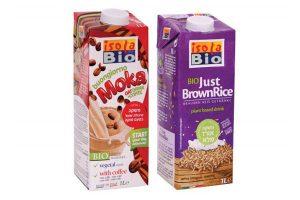 משקאות 'איזולה ביו' - תחליפי חלב צמחיים