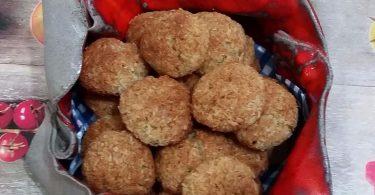 עוגיות קוקוס עם נגיעות לימון