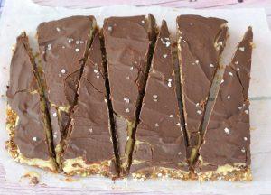 חטיפי תמרים, קרם שקדים ושוקולד קצת אחרים