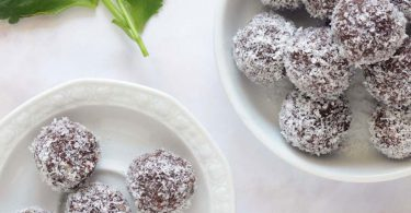 כדורי שוקולד טבעוניים
