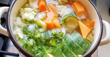 מרק ירקות טעים בלי אבקות
