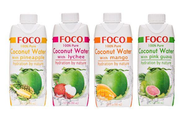 משקה מי קוקוס - FOCO
