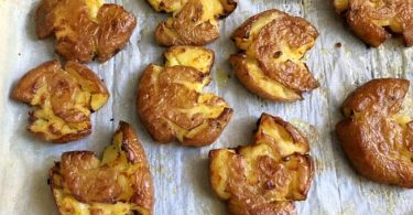תפוחי אדמה בתנור פריכים וזהובים
