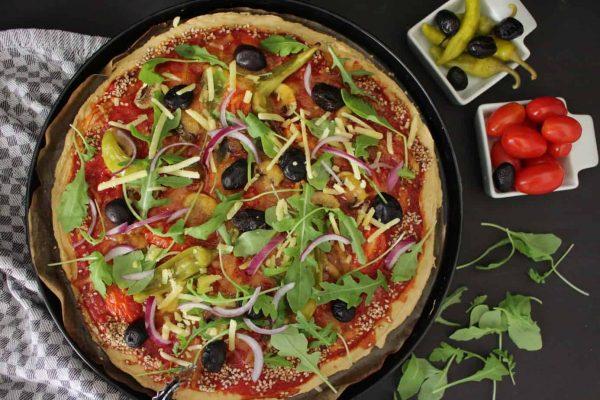פיצה פליאו - טבעונית