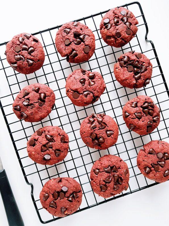 עוגיות רד וולווט שוקולד צ'יפס