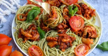ספגטי בולונז טבעוני